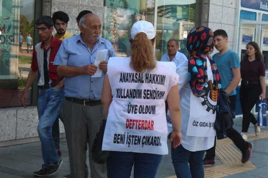 İşten atılan Orkide işçileri İzmirlilerden destek istedi