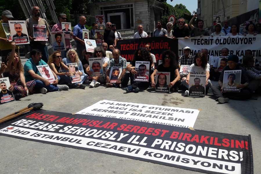 'Hasta mahpus Hacı İsa Sezek'in serbest bırakılsın'