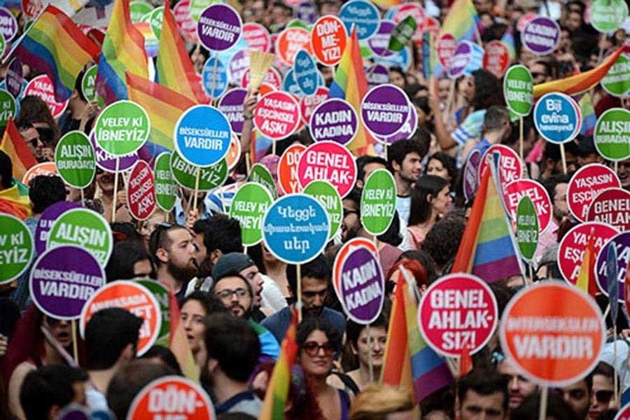 ANKARA'DA LGBTİ ETKİNLİKLERİNE YASAK