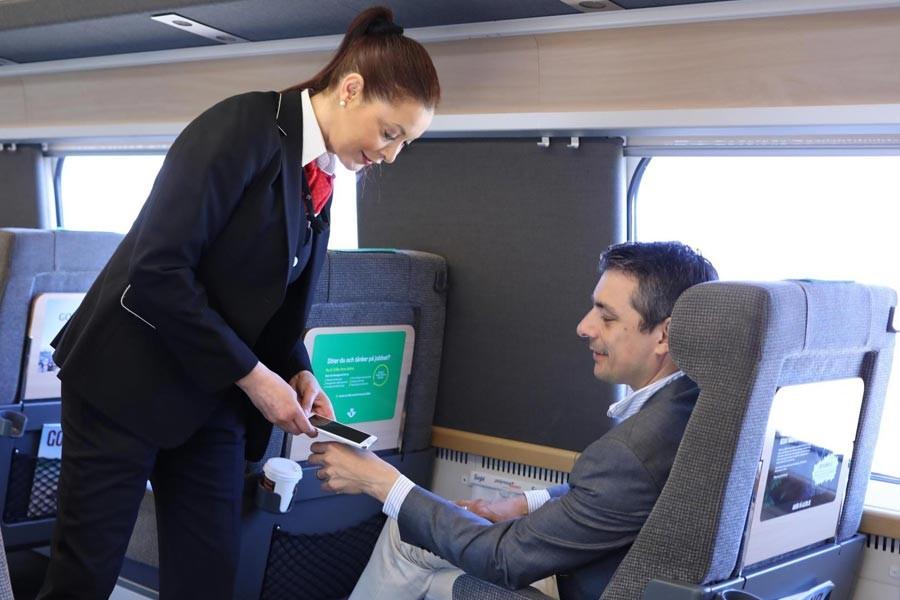 Tren bileti yerine mikroçip