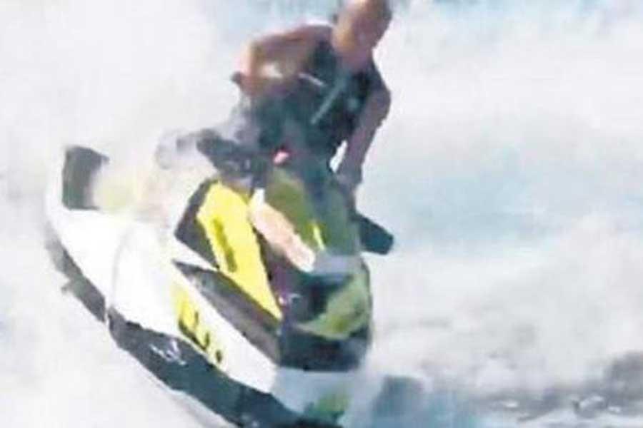 Ali Ağaoğlu, jet ski yaparken kaburgalarını kırdı