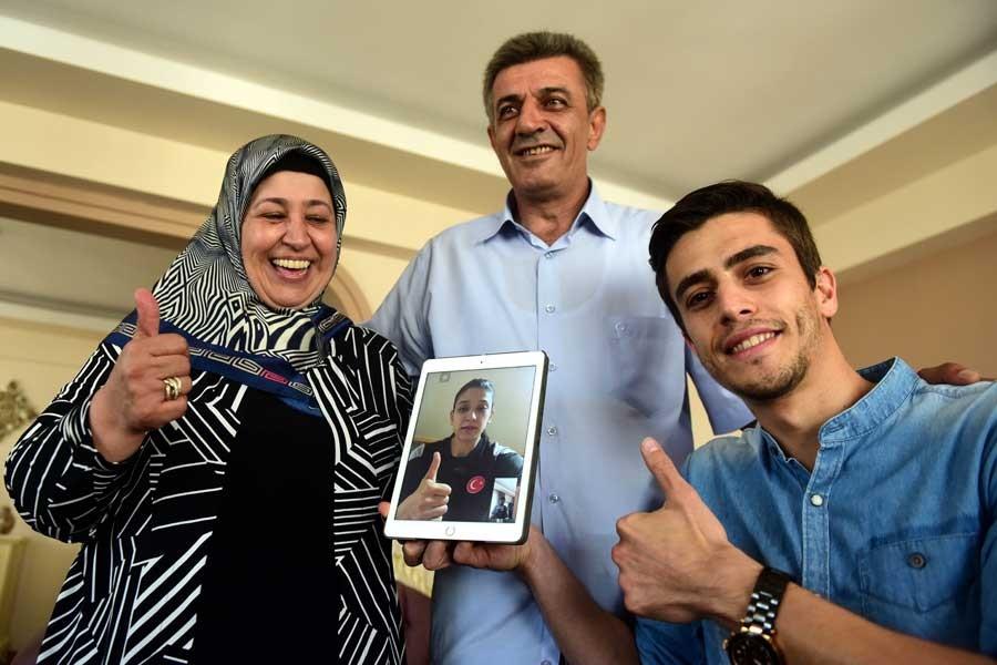 Nur Tatar Askari: Hedefim olimpiyatlarda altın madalya