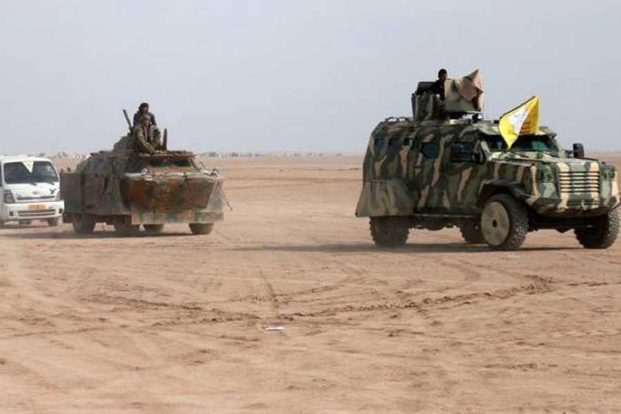 Suriye Demokratik Güçleri Rakka'da IŞİD'i kuşattı