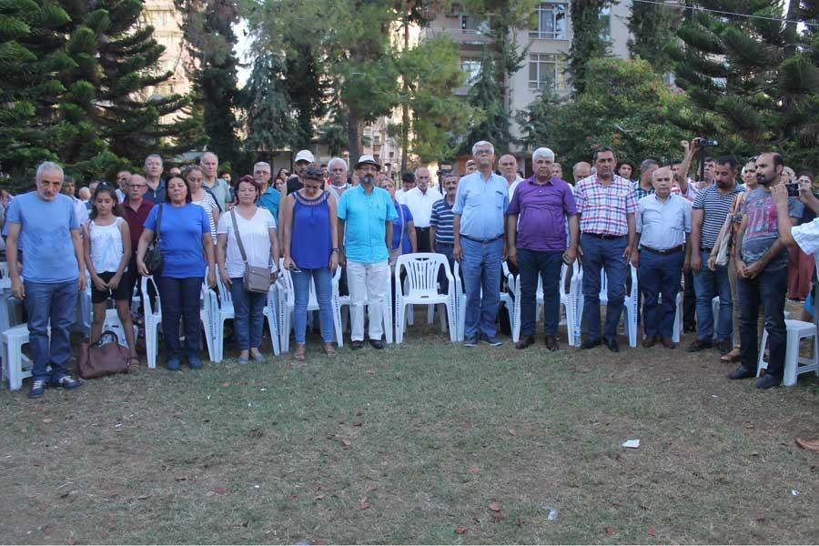 Adana Alevi Platformu Adalet çadırını ziyaret etti