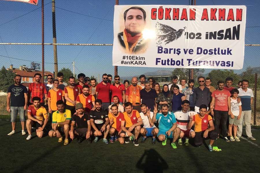 Gökhan Akman Barış ve Dostluk Futbol Turnuvası başladı