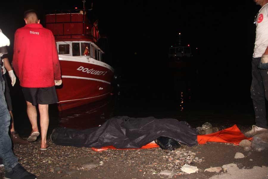 Kayıp madencinin denizde cesedi bulundu