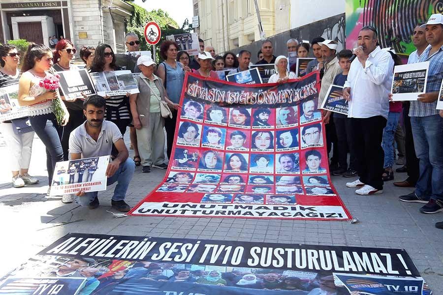 TV 10 çalışanları: 'Sivas'taki gibi yandınız mı?'