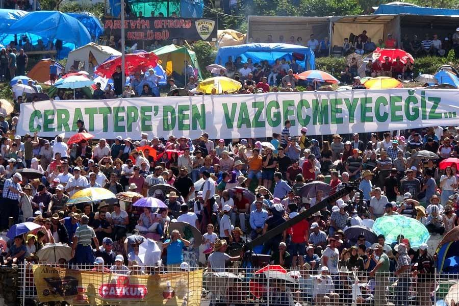 Danıştay, Cerattepe'de halka rağmen madenciliğe olur verdi
