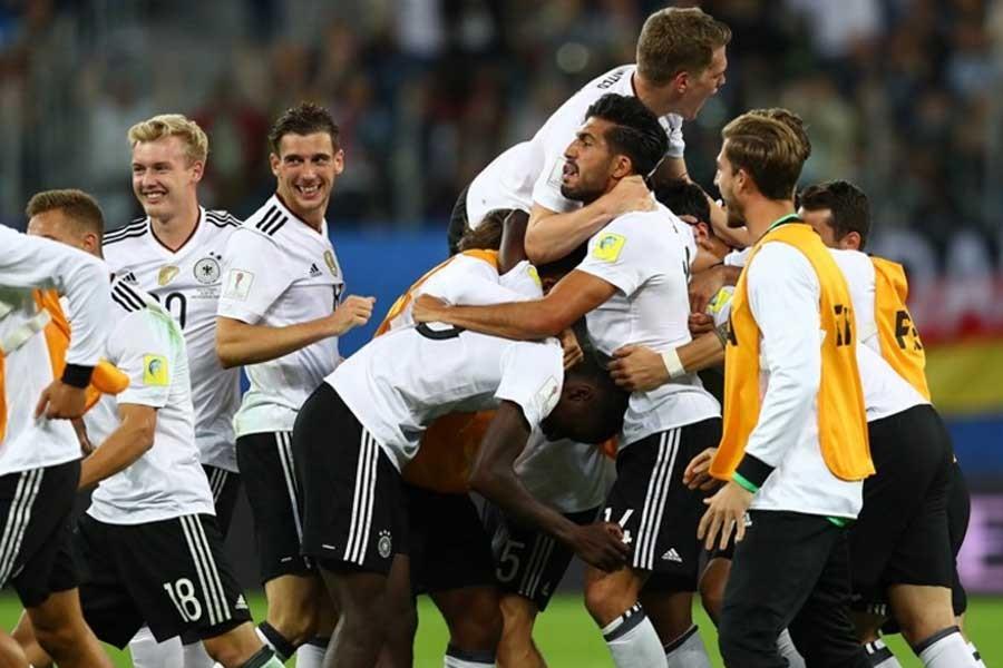 Konfederasyonlar Kupası'nda şampiyon Almanya