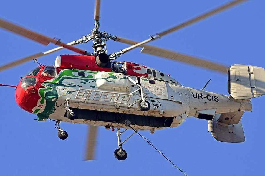 Yangın söndürme helikopterinde motor arızası araştırılacak