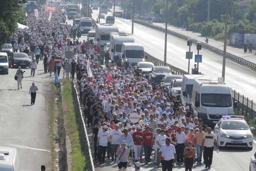 'Adalet Yürüyüşü'nde İstanbul'da kapatılacak yollar