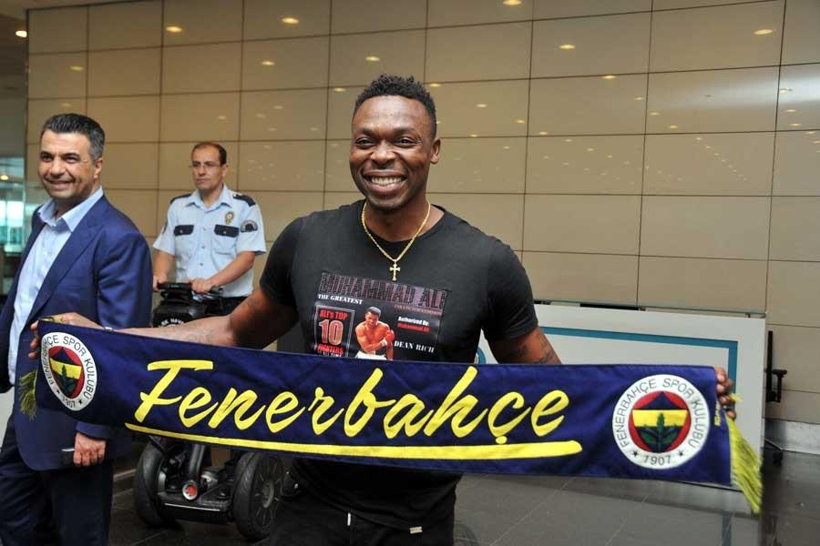 Fenerbahçe'nin yeni transferi Kameni İstanbul'da