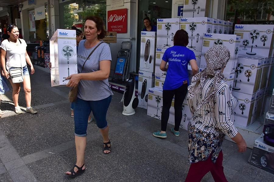 Sıcak hava, klima satıcılarının yüzünü güldürdü