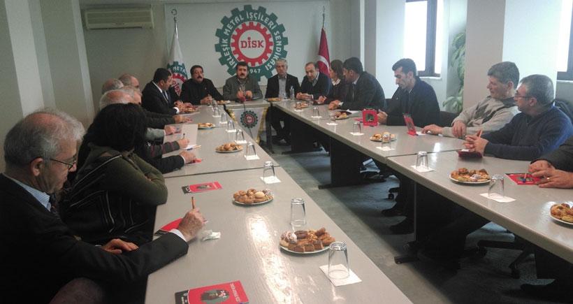 Serdaroğlu: MESS'ten ayrılın sözleşme imzalayın