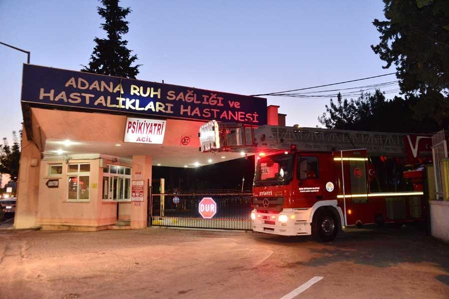 Ruh Sağlığı ve Hastalıkları Hastanesi'nde  yangın: 1 ölü