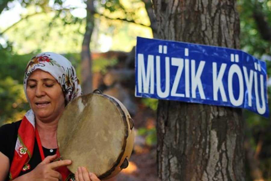 Müzik Köyü'nden ezgiler yükselecek