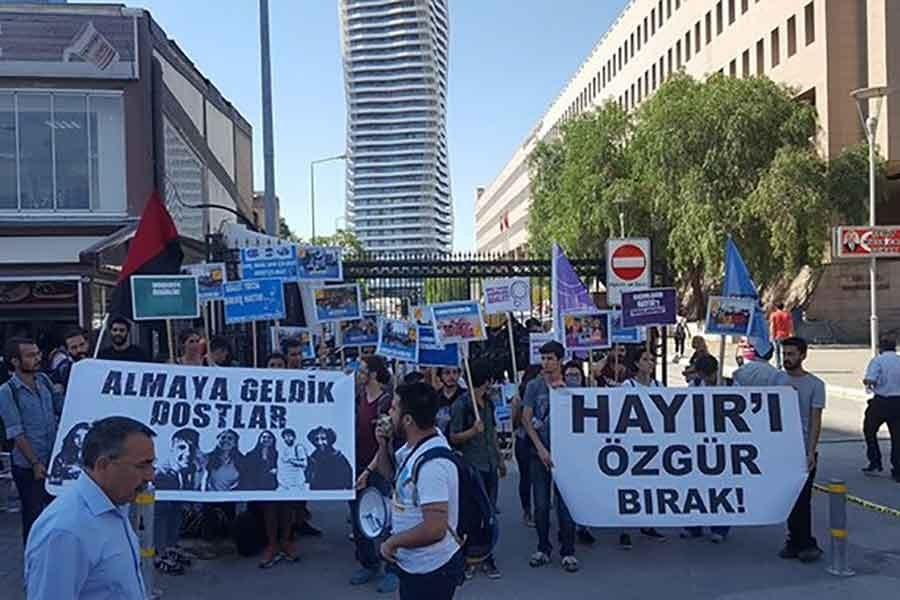Yönetmen Kazım Kızıl ve 6 kişi için tahliye kararı