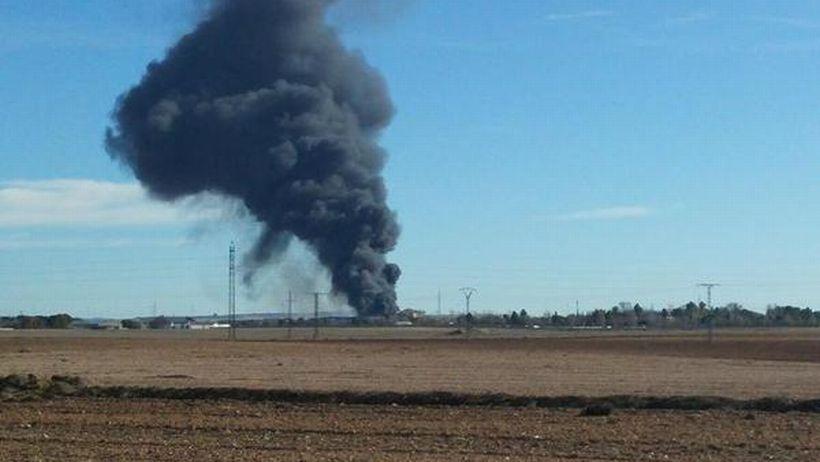 İspanya'da Yunanistan'a ait F-16 düştü: 10 ölü