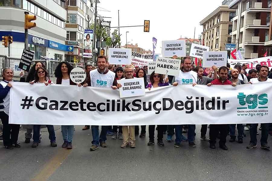 Türkiye Gazeteciler Sendikası 65 yaşında