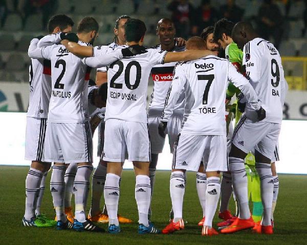 Gençlerbirliği - Beşiktaş: 0 - 2