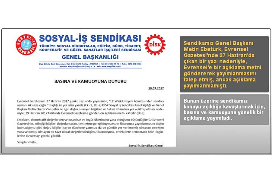 Metin Ebetürk'ten 'algı sınırlarını zorlayan' açıklama