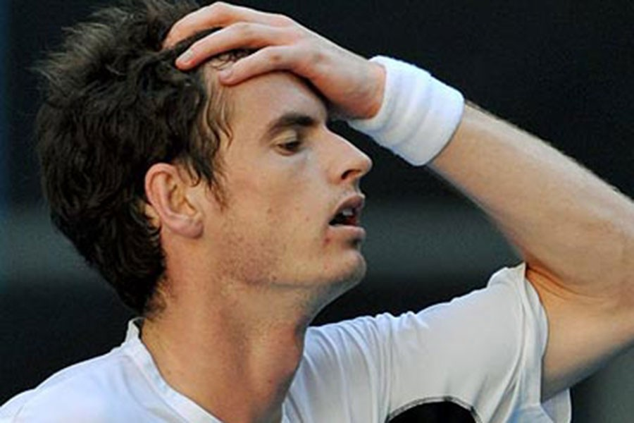 Andy Murray Wimbledon'a veda etti