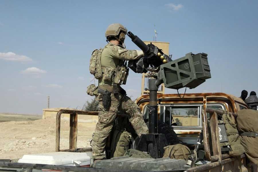 ABD askerleri, SDG'ye destek için Rakka'da konuşlandırıldı