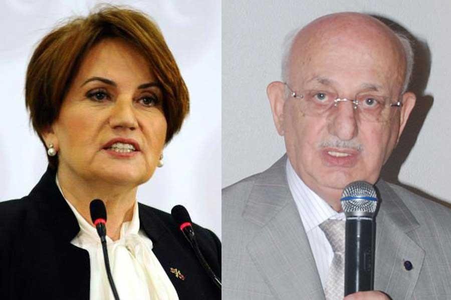 TBMM Başkanı'nın Akşener açıklaması 'masum bir teşbih'miş!