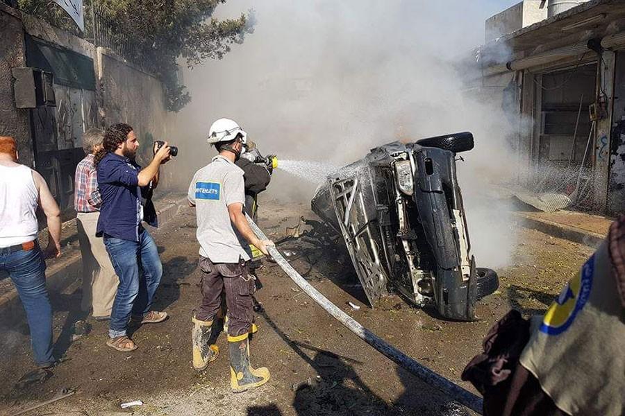 Azez'de bombalı saldırı: 4 ölü, 7 yaralı