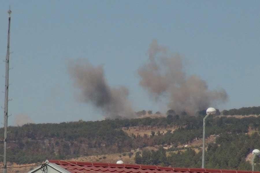 TSK'den Afrin'e topçu bombardımanı
