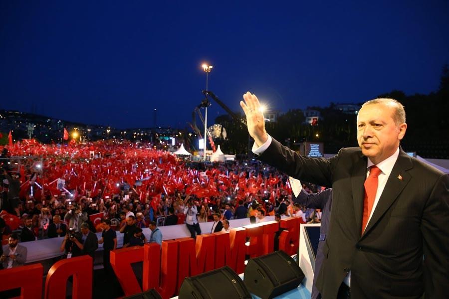 Erdoğan'dan Kılıçdaroğlu'ya: Kontrollü darbe değildi