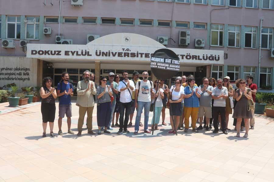 İzmir Dayanışma Akademisi: DEÜ Rektörü emir eridir