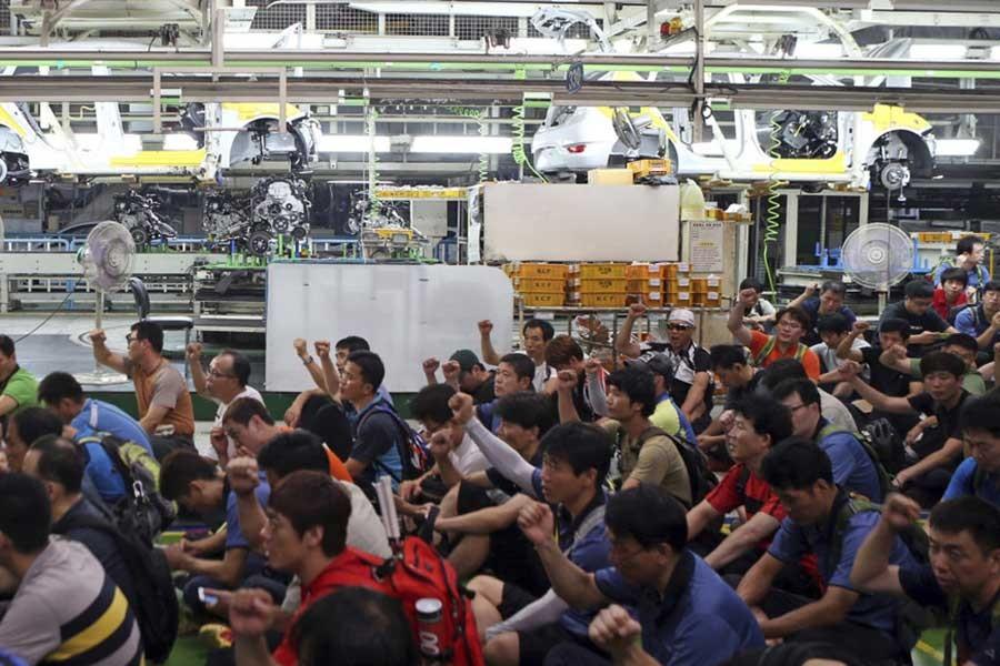 Hyundai Motor işçileri grevi oyladı