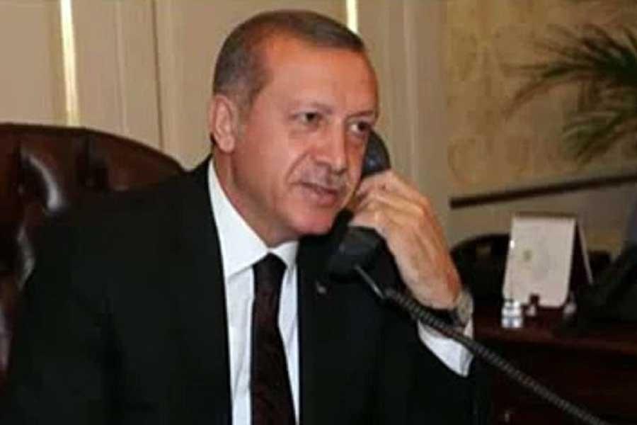 Cumhurbaşkanı Erdoğan, Katar Emiri Temim ile görüştü