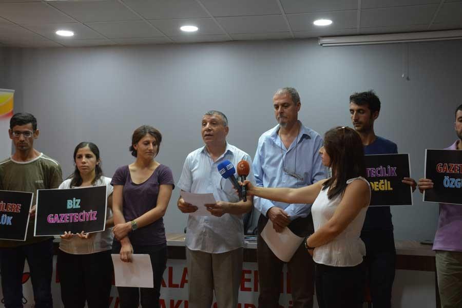 TGS ve ÖGİ: Gözaltındaki gazetecileri serbest bırakın