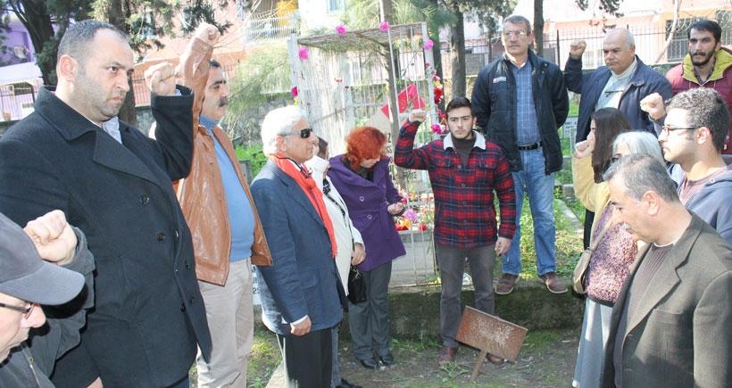Cengiz Argüç mezarı başında anıldı