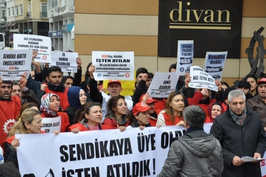 Koç Holding, Divan Turizm işçilerinin alacaklarını vermiyor