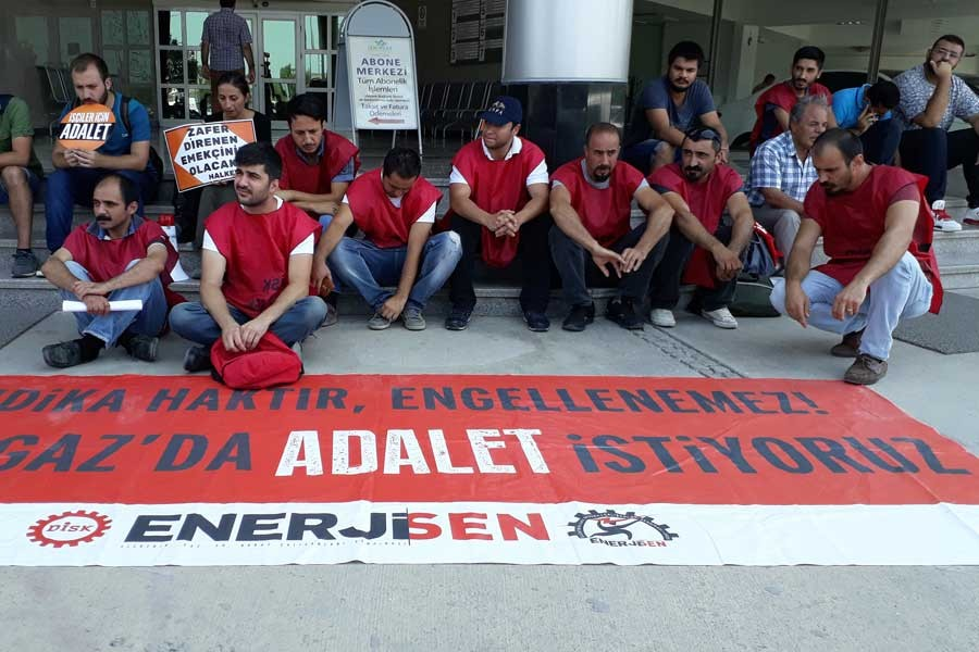 İzmir Gaz işçilerinin adalet arayışı sürüyor
