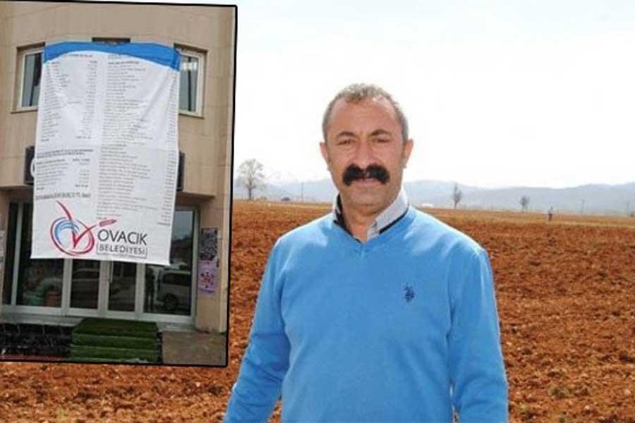 Hükümet şimdi de Ovacık'a el attı