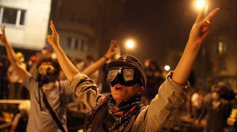 Gezi davalarında 45 beraat