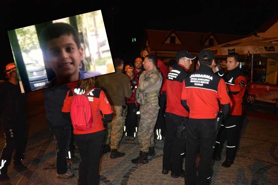 Uludağ'da kaybolan 9 yaşındaki çocuk bulundu