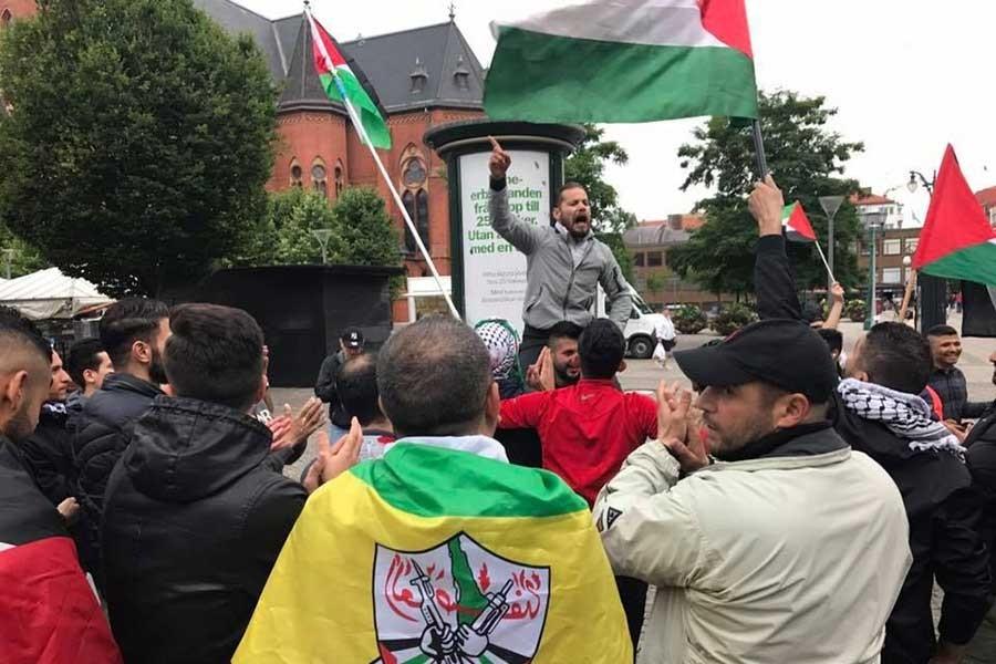 İsveç'te İsrail'i protesto gösterileri