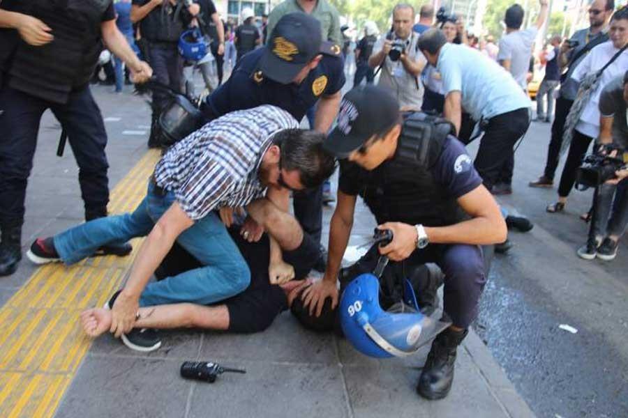 Ankara'da gözaltına alınanlardan 57'si serbest