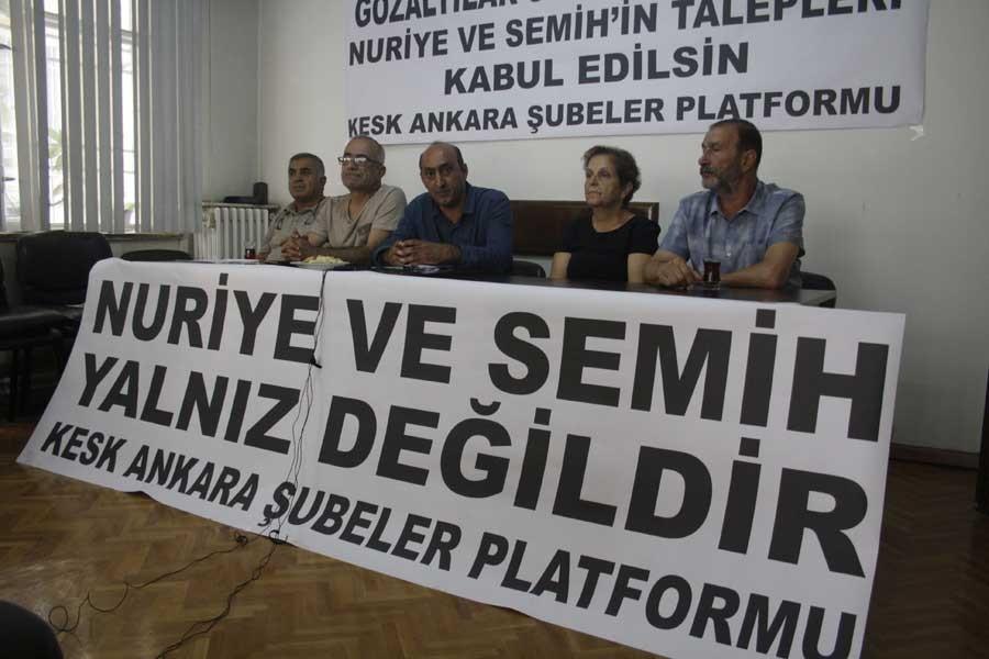 KESK: Ankara Valiliği OHAL içinde OHAL oluşturdu