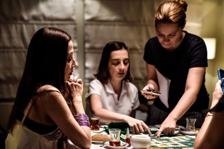 'Scrabble' Stockholm'de