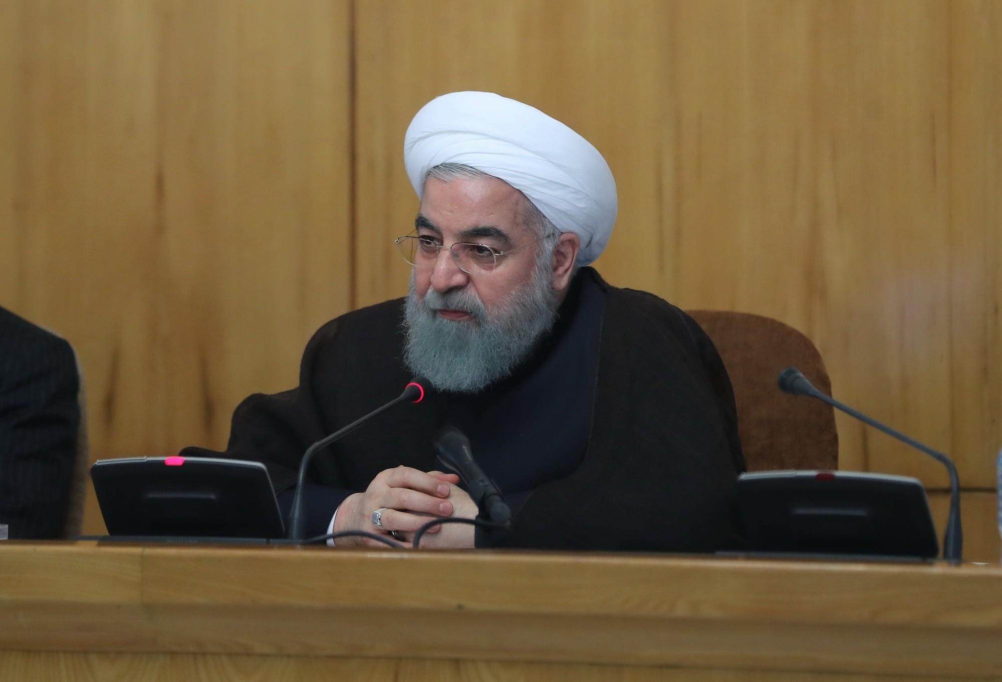 Ruhani'den ABD'nin yeni yaptırım kararına tepki
