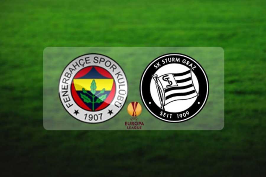 Fenerbahçe, Sturm Graz'a karşı
