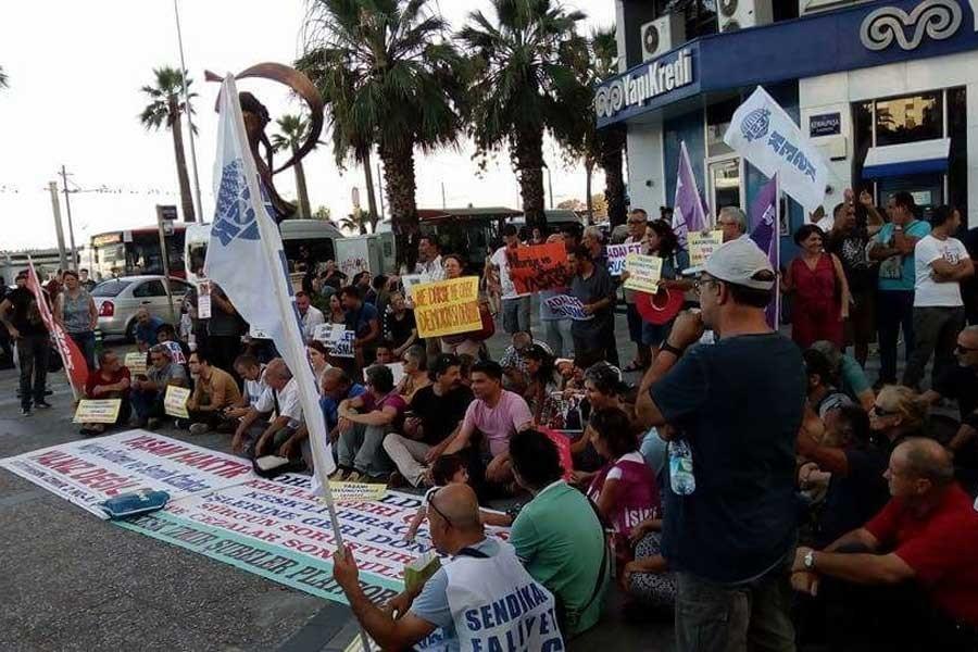 KESK İzmir: İş güvencesi olmadan TİS de olmaz