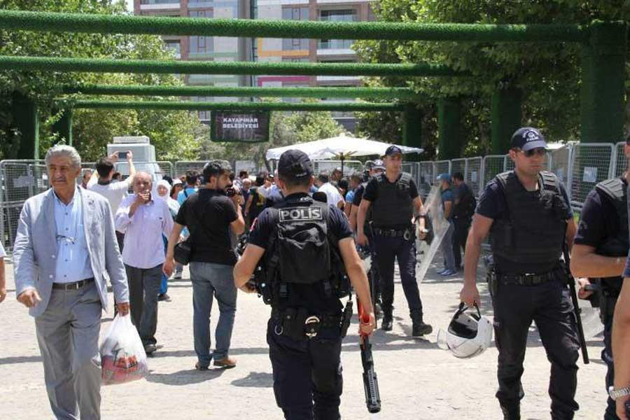 HDP'nin 'Vicdan ve Adalet Nöbeti' 5'inci gününde