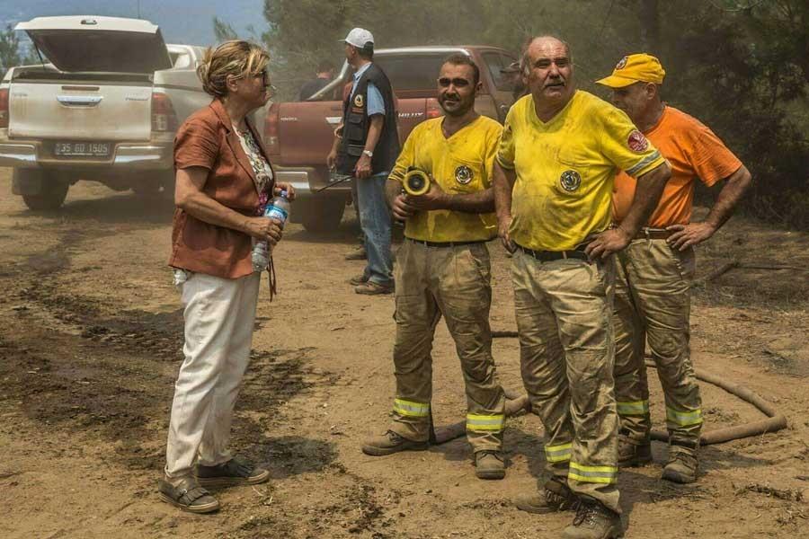 'Orman yangınlarının uzun sürmesi personel eksikliğinden'